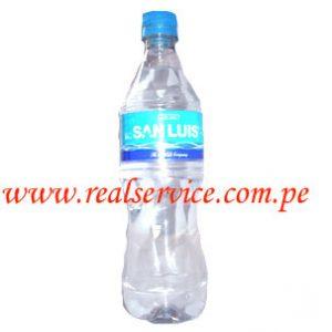Agua San Luis sin gas 625 ml descartable
