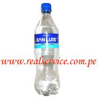 Agua de mesa San Luis con gas 600 ml descartable