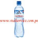 Agua mineral San Mateo con gas 600 ml