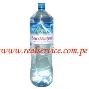 Agua mineral San Mateo sin gas 2.5 lt. descartable