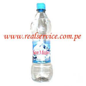 Agua mineral San Mateo sin gas 600 ml descartable