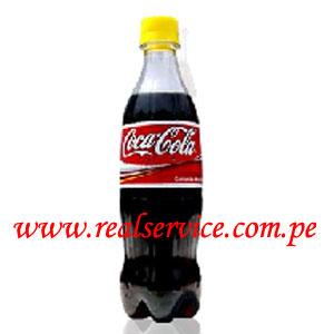 gaseosa Coca Cola 500 ml descartable
