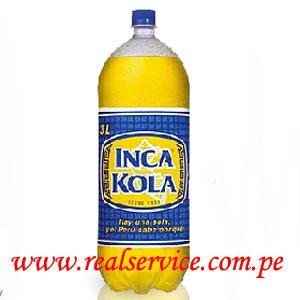 gaseosa Inca Kola 3 litros retornable