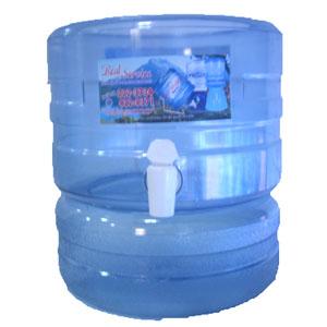 Surtidor rs transparente para bidones de agua